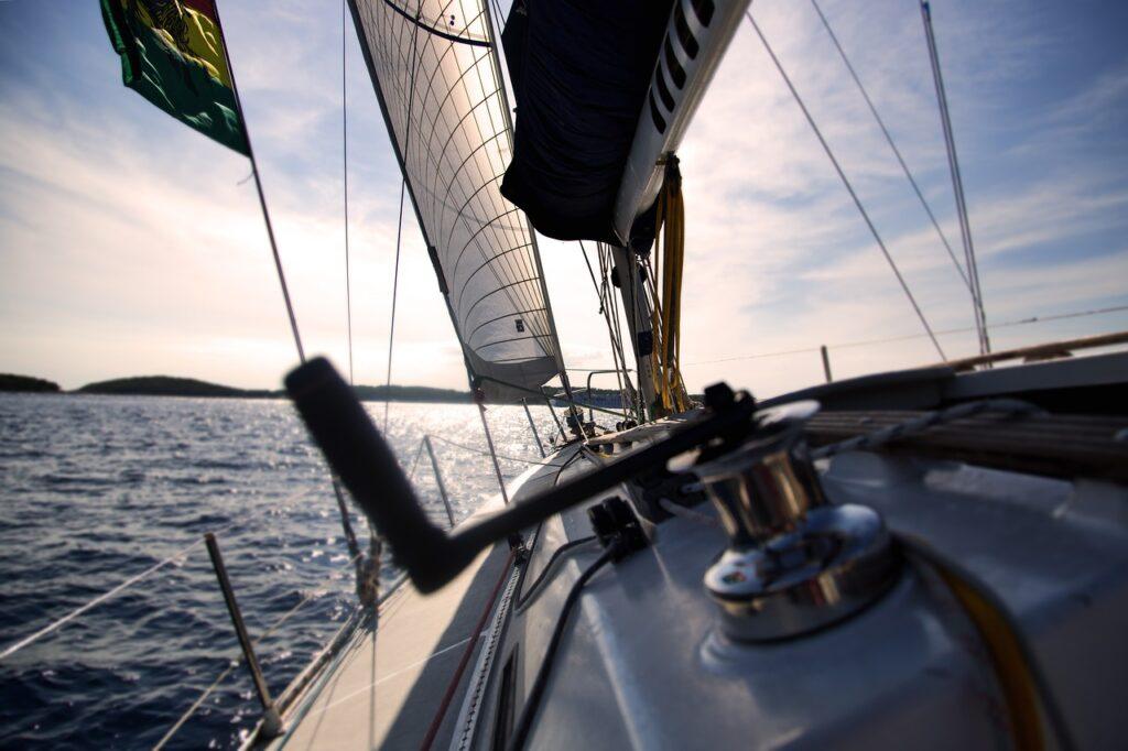 boat, sail, sailboat